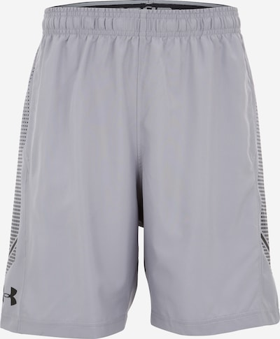 UNDER ARMOUR 'Woven Graphic' Shorts in grau / schwarz, Produktansicht
