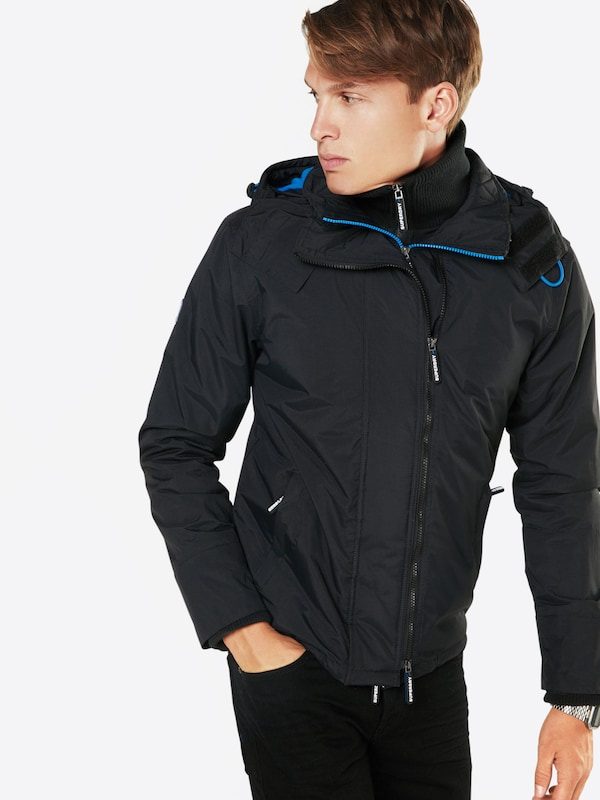 Superdry Jacke 'POP ZIP HOODED ARCTIC WINDCHEATER'