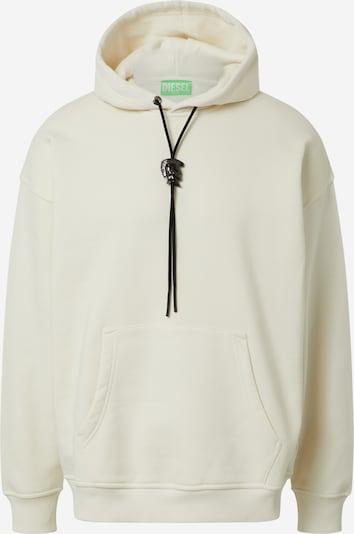 DIESEL Sweatshirt 'S-UMMER-N74' in weiß, Produktansicht