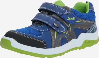 LURCHI Tenisky 'MATTHIAS-TEX' - kobaltová modř / světle zelená, Produkt