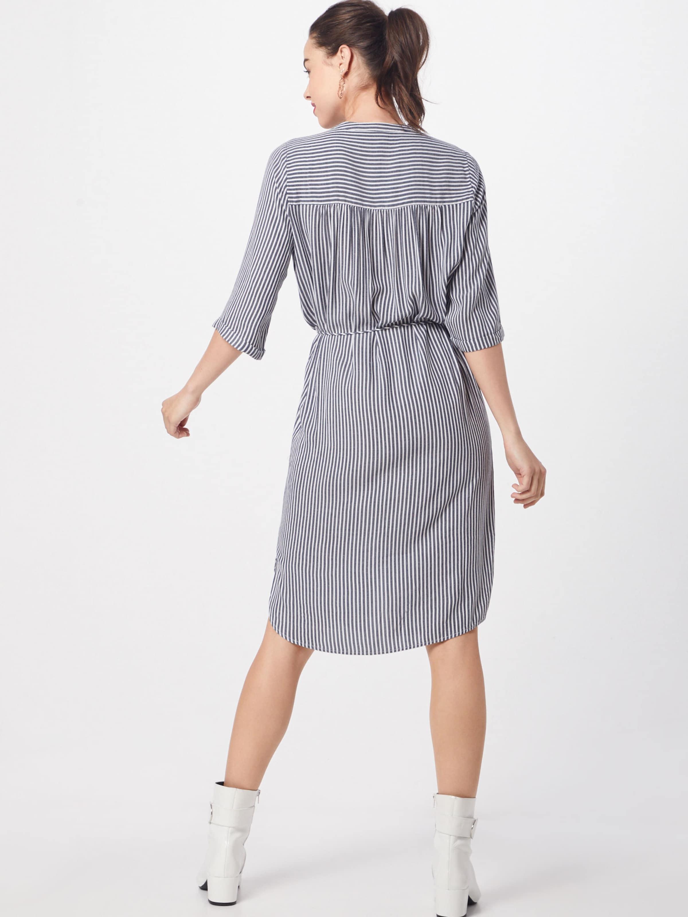Saint Dress Knee' In 'woven GrauNaturweiß Tropez Kleid Below sCtrhdQ
