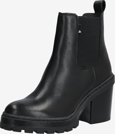 Chelsea batai iš BULLBOXER , spalva - juoda: Vaizdas iš priekio