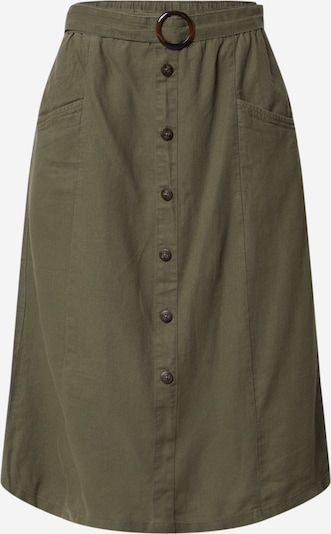 ONLY Rock 'ONLBECCA BELTED MIDI SKIRT WVN' in khaki, Produktansicht