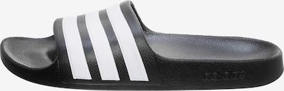 ADIDAS PERFORMANCE Badelatschen in schwarz / weiß, Produktansicht
