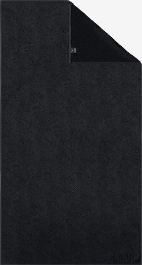 JOOP! Duschtuch 'Uni Cornflower' in schwarz, Produktansicht
