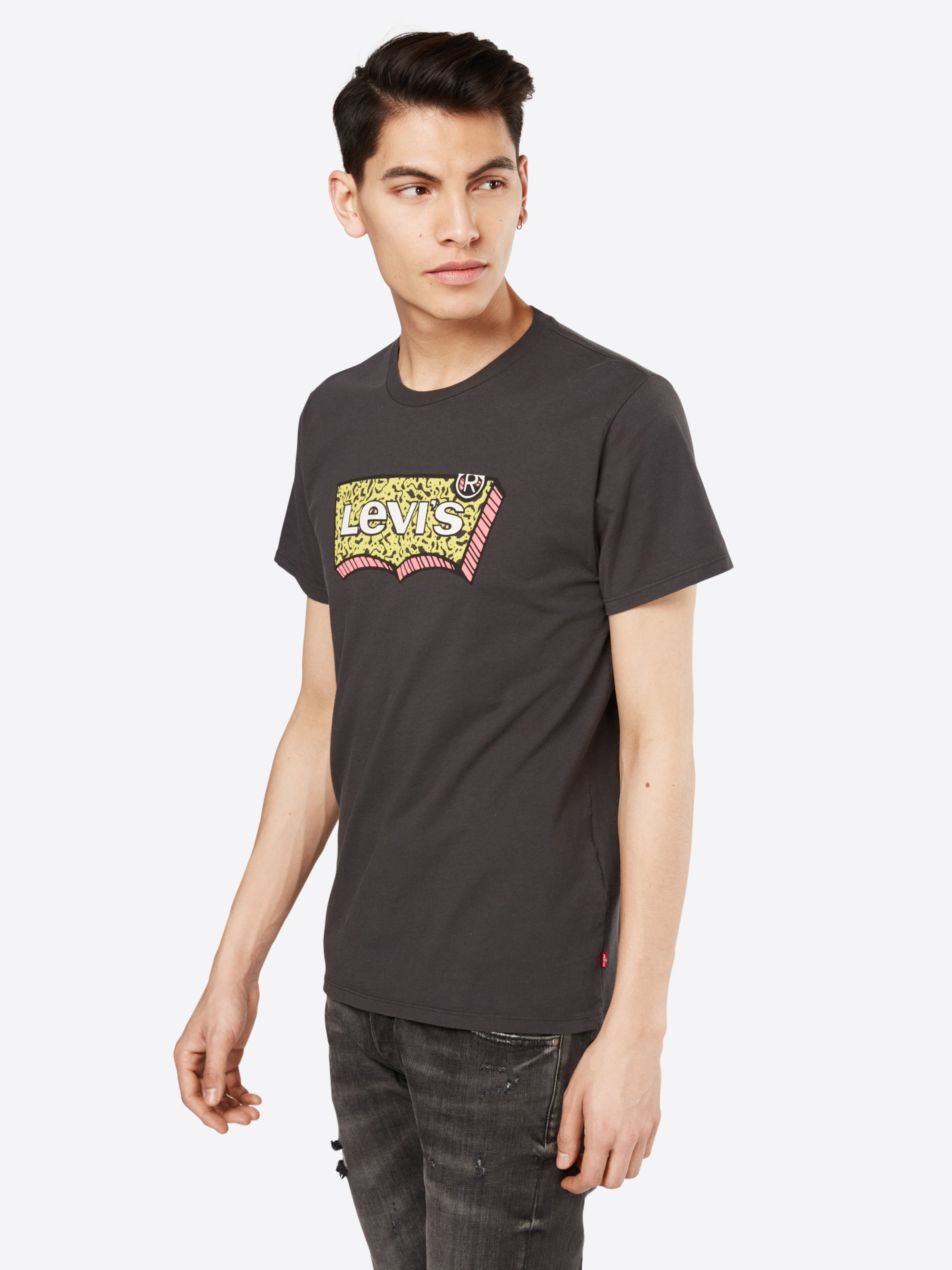LEVI'S T-shirt 'HOUSEMARK GRAPHIC TEE' 100% Authentisch Online Original- 100% Original C5fCK2