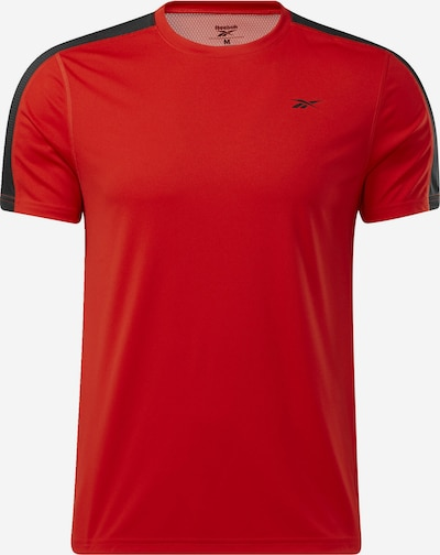 REEBOK Shirt in hellrot / schwarz, Produktansicht