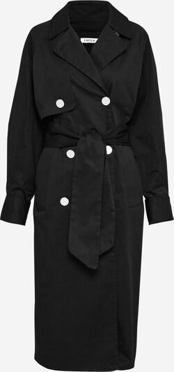 Palton de primăvară-toamnă EDITED pe negru, Vizualizare produs