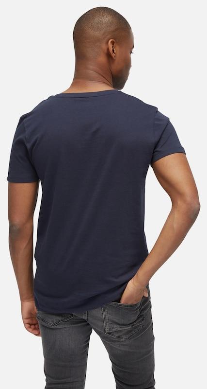 TOM TAILOR DENIM T-Shirt mit Schrift-Print