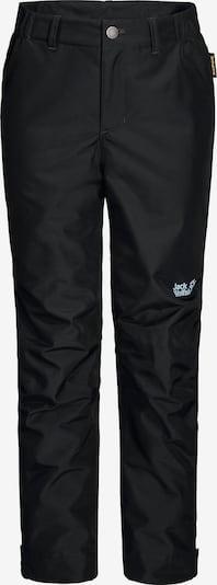 JACK WOLFSKIN Outdoorhose 'Snowy Days' in schwarz, Produktansicht