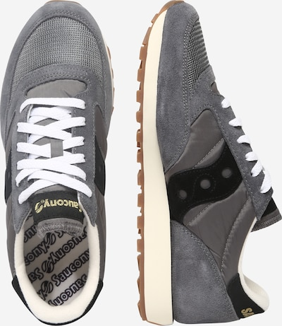 saucony Sneaker in grau / schwarz: Seitenansicht