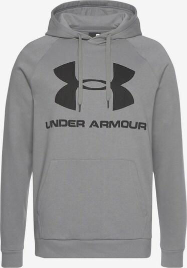 UNDER ARMOUR Sweatshirt 'Rival' in khaki / schwarz, Produktansicht