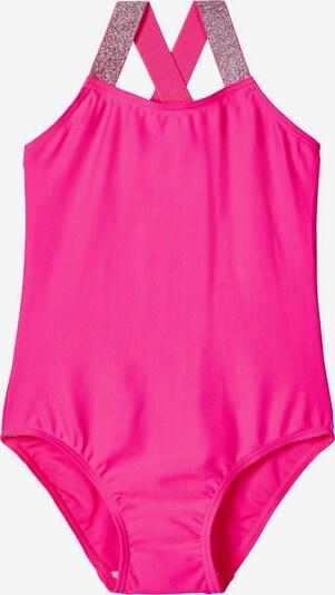 NAME IT Gepunkteter Badeanzug in pink, Produktansicht