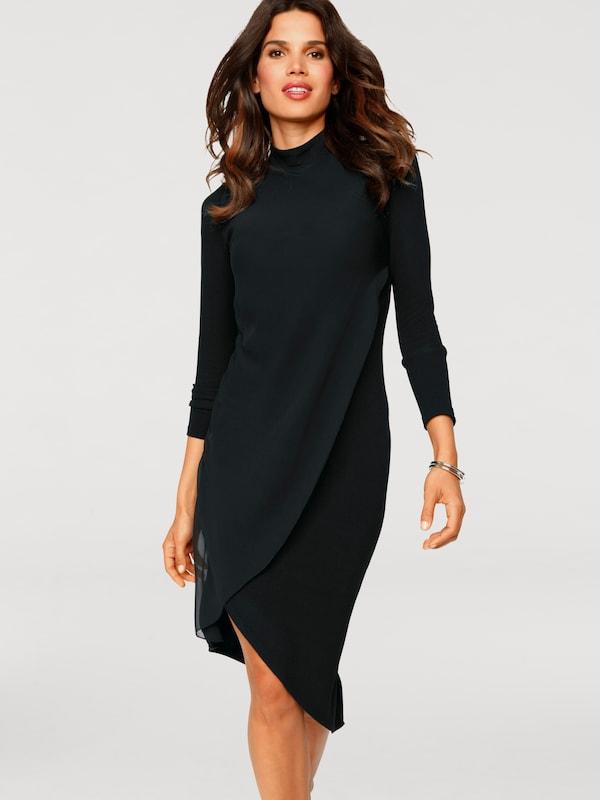 heine Bodyform Jerseykleid in schwarz   ABOUT YOU