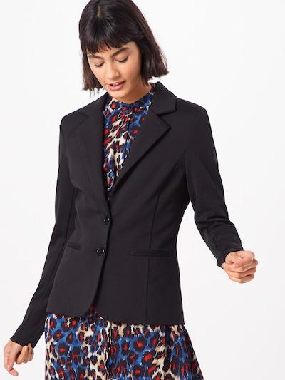 Cream Blazer 'Anett' in schwarz, Modelansicht