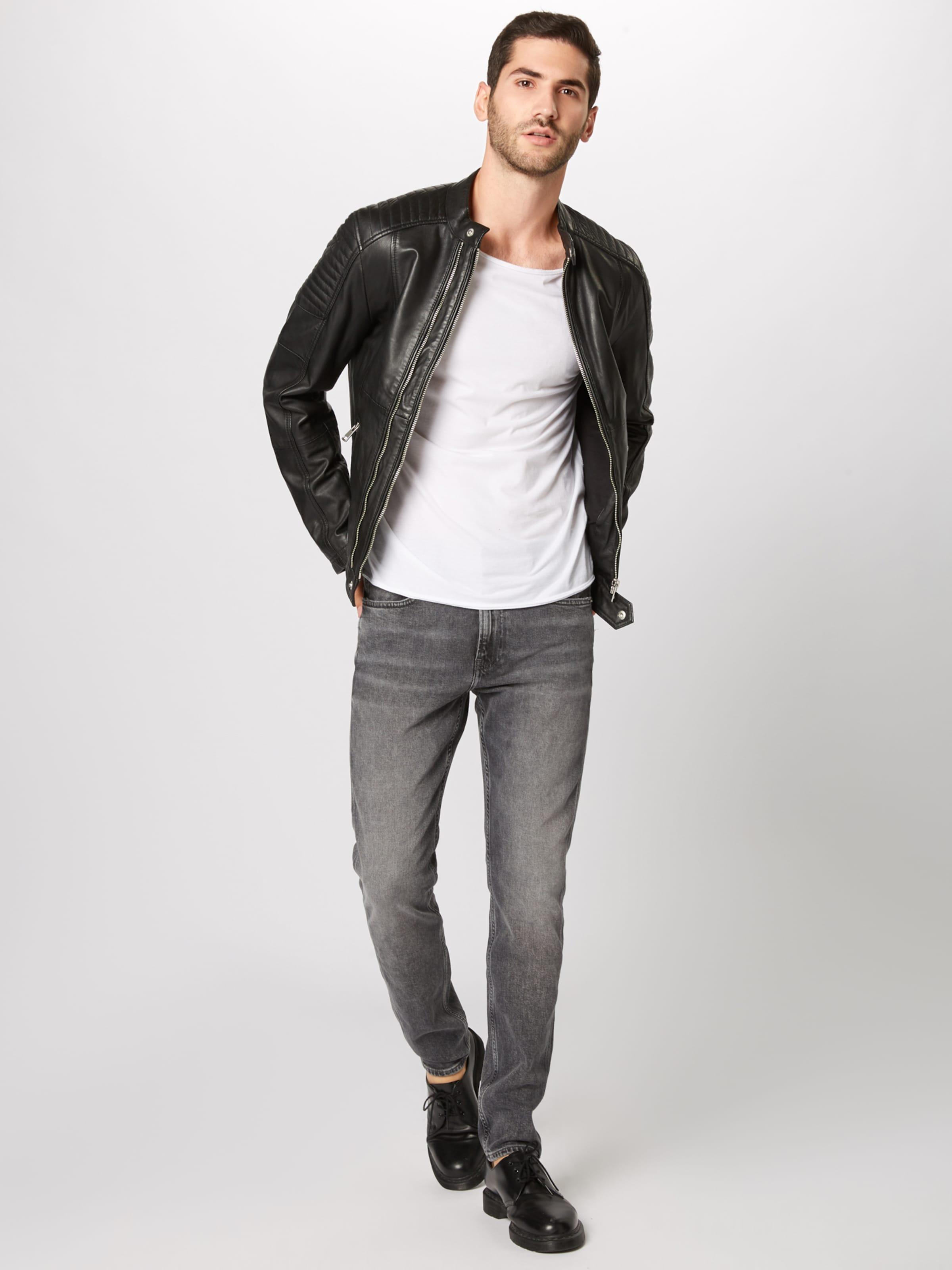 Taper' Calvin Slim '058 In Jeans Klein Denim Grey xosrBthdQC