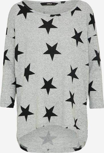 ONLY T-shirt 'onlELCOS' en gris / noir, Vue avec produit