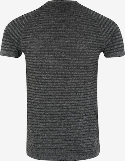 ODLO T-Shirt fonctionnel 'Seamless ELEMENT' en gris chiné / blanc: Vue de dos