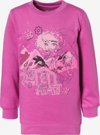 LEGO WEAR Sweatshirt in pink, Produktansicht