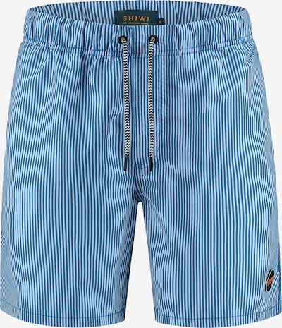 Pantaloncini da bagno Shiwi di colore blu / bianco, Visualizzazione prodotti