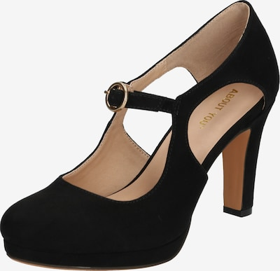 ABOUT YOU Pumps 'Ilaria Shoe' in schwarz: Frontalansicht