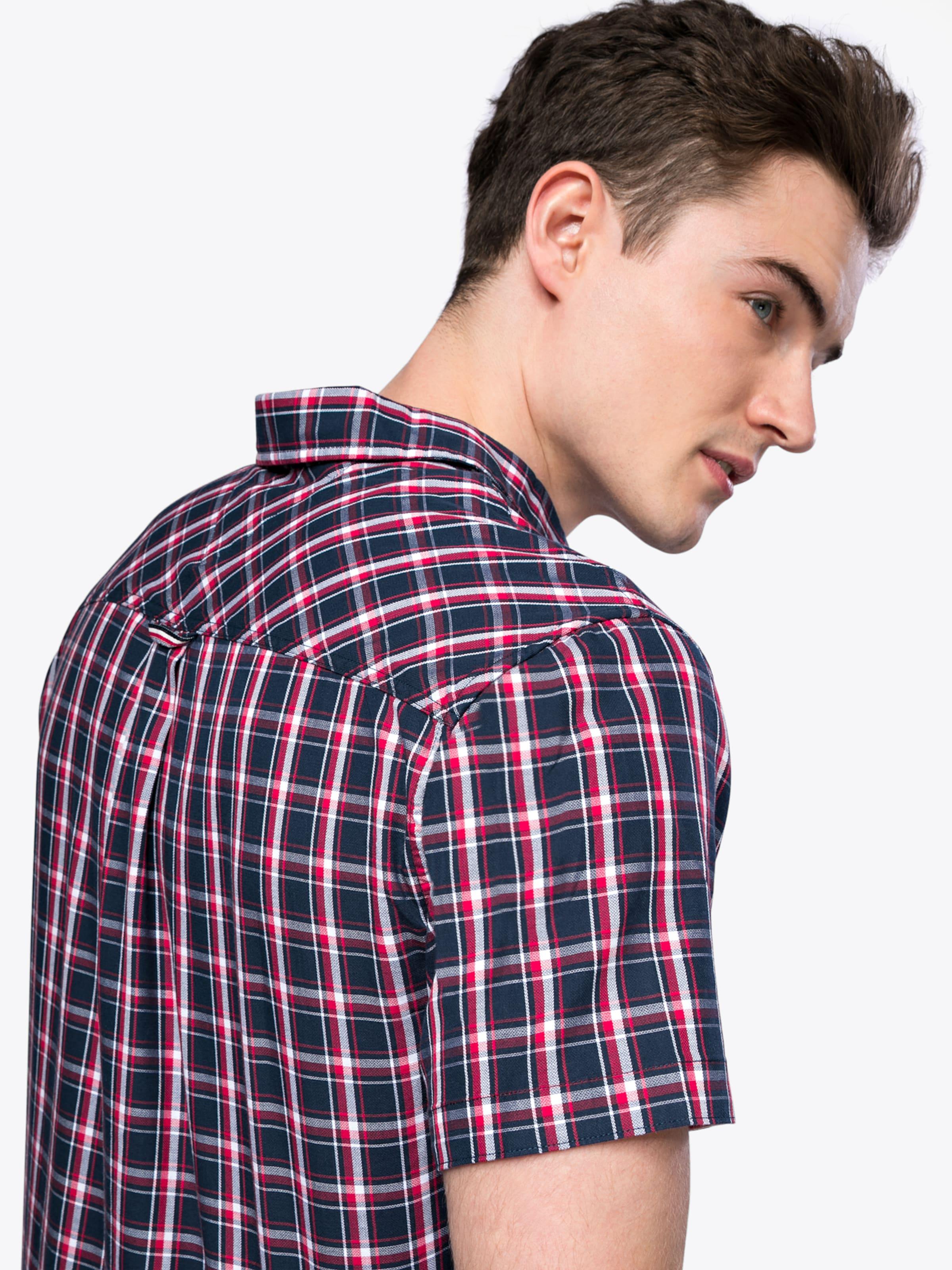 Verkauf 2018 Tommy Jeans Hemd 'TJM ESSENTIAL CHECK SHORT SLEEVE SHIRT' Billiges Countdown-Paket Klassisch Online-Shopping-Outlet Verkauf lufXPvbQ