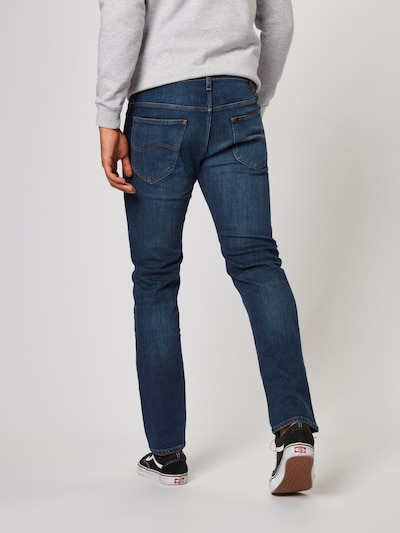 Lee Jeans 'Daren' in blue denim: Rückansicht