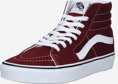 VANS Sneakers hoog 'SK8-Hi' in de kleur Bordeaux / Wit, Productweergave