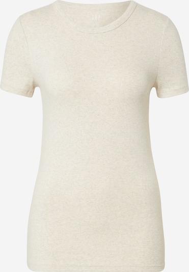 GAP T-shirt 'CREW' en blanc cassé, Vue avec produit