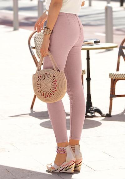 LASCANA Jeggings in rosé, Modelansicht