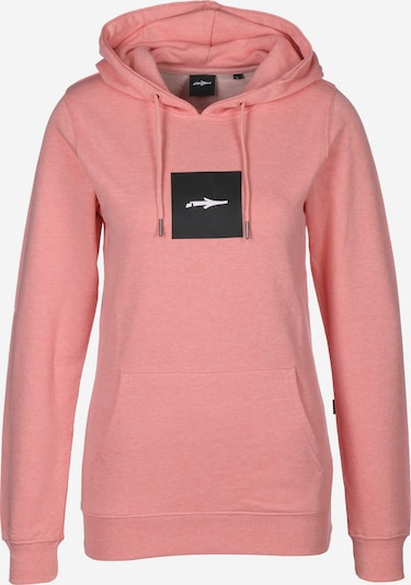 Illmatic Hoodie 'Logoism' in rosa, Produktansicht