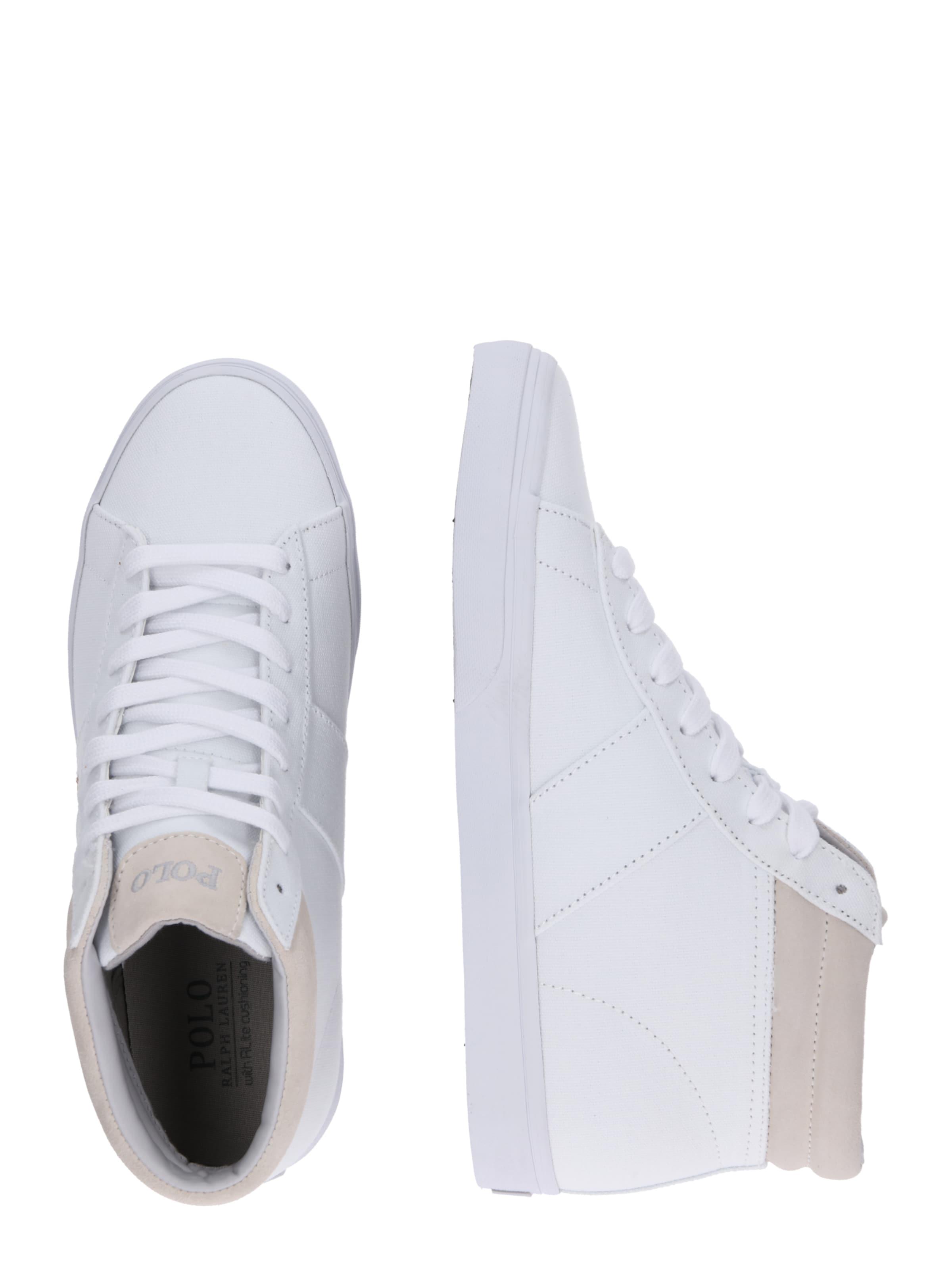 In Weiß Polo Canvas' Sneaker Ralph 'shaw Lauren Ne fyYgv67b