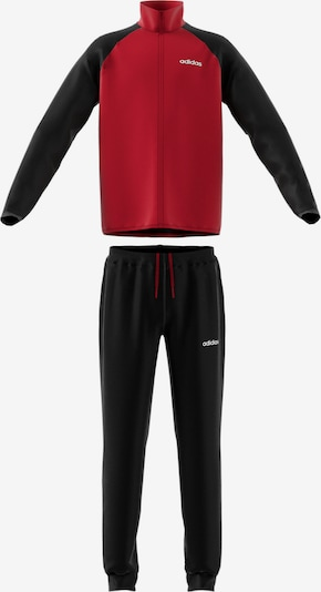 ADIDAS PERFORMANCE Trainingsanzug 'YB TS Entry' in rot / schwarz, Produktansicht