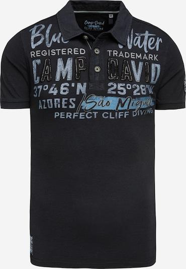 CAMP DAVID T-Shirt en bleu nuit, Vue avec produit