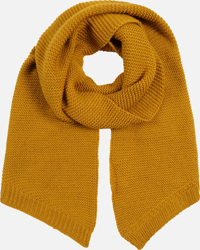 PIECES Schal 'PCDACE LONG WOOL  SCARF NOOS' in senf, Produktansicht