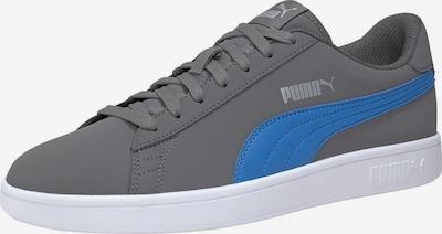 PUMA Sneaker 'Smash v2 Buck' in blau / grau: Frontalansicht