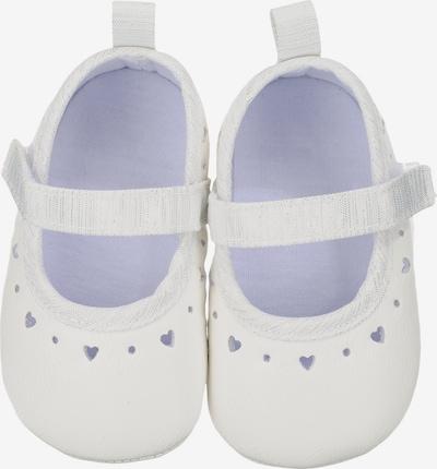 Pantofi STERNTALER pe alb, Vizualizare produs