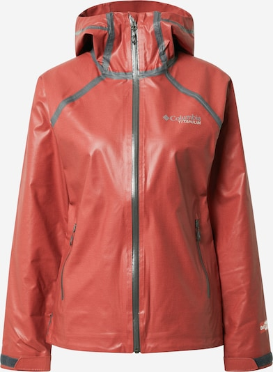 COLUMBIA Outdoor jakna u crvena / crna, Pregled proizvoda