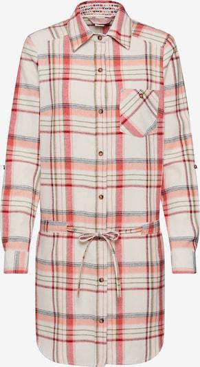 Femi Stories Robe-chemise 'MALWA' en crème / bleu foncé / rouge, Vue avec produit