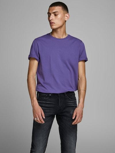 JACK & JONES Shirt in de kleur Donkerlila: Vooraanzicht