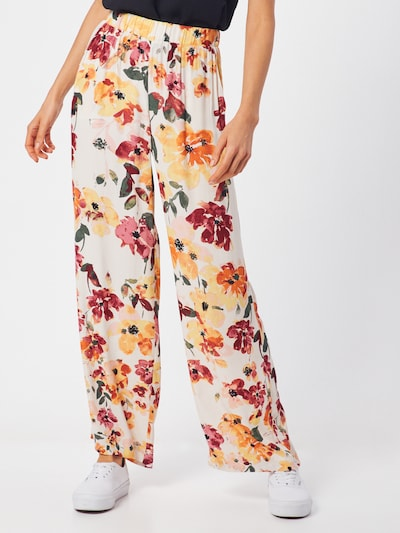 ICHI Pantalon 'IHBRUNSA PA' en mélange de couleurs, Vue avec modèle