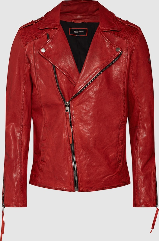 Tigha Jacke 'Elon' in rot  Mode neue Kleidung