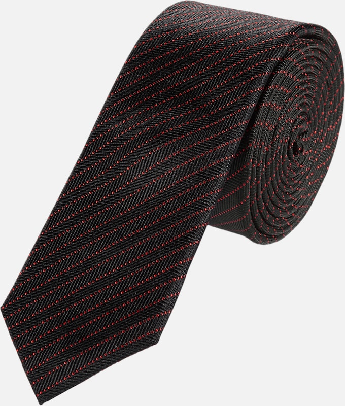 s.Oliver BLACK LABEL Gestreifte Krawatte