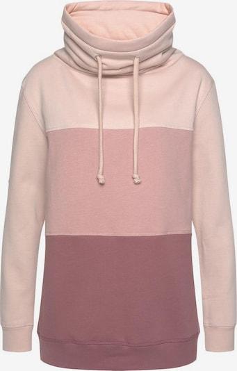 BENCH Sweat-shirt en rose / rosé, Vue avec produit