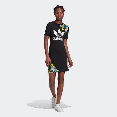 ADIDAS ORIGINALS Kleid in schwarz: Frontalansicht