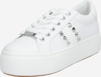 STEVE MADDEN Sneaker 'ESCALA' in silber / weiß, Produktansicht