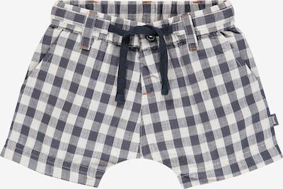 IMPS&ELFS Shorts 'North Carolina' in taubenblau / weiß, Produktansicht