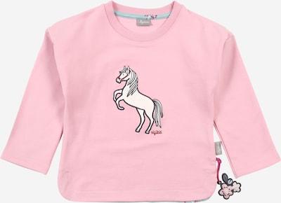 Bluză de molton SIGIKID pe roz / negru / alb, Vizualizare produs