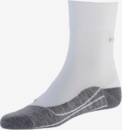 FALKE Športové ponožky 'RU4' - sivá / biela, Produkt