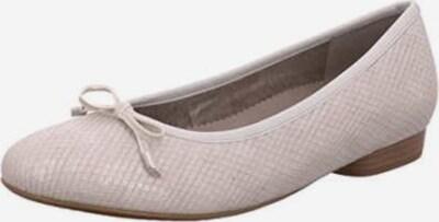 Jenny Ballerina in weiß: Frontalansicht